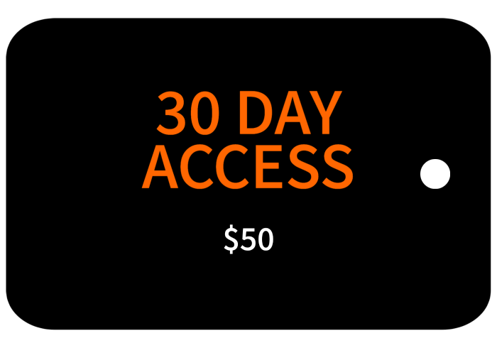 30 Day Access